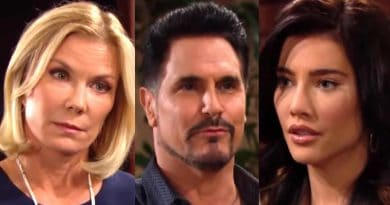 Bold and the Beautiful Spoilers: Brooke Logan (Kathernine Kelly Lang) - Bill Spencer (Don Diamont) - Steffy Forrester (Jacqueline MacInnes Wood)