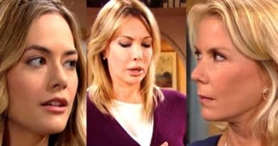 Bold and the Beautiful Spoilers: Hope Logan (Annika Noelle) - Brooke Logan (Katherine Kelly Lang) - Taylor Hayes (Hunter Tylo)