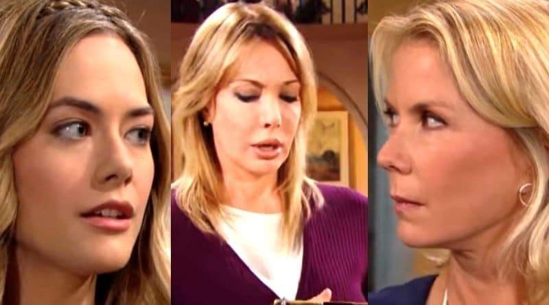 Bold and the Beautiful Spoilers: Hope Logan (Annika Noelle) - Brooke Logan (Katherine Kelly Lang) - Taylor Hayes (Hunter Tylo)
