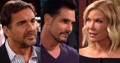Bold and the Beautiful Spoilers: Ridge Forrester (Thorsten Kaye) - Bill Spencer (Don Diamont)- Brooke Logan (Katherine Kelly Lang)