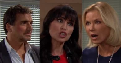 Bold and the Beautiful Spoilers - Ridge Forrester (Thorsten Kaye) - Quinn Fuller (Rena Sofer) - Brooke Logan (Katherine Kelly Lang)