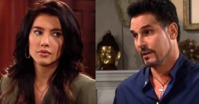 Bold and the Beautiful Spoilers - Steffy Forrester ( Jacqueline MacInnes Wood) - Bill Spencer (Don Diamont)