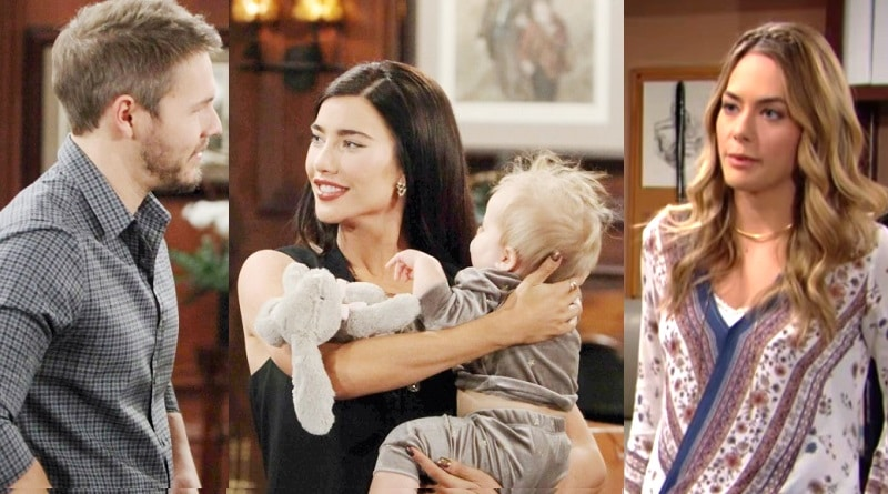 Bold and the Beautiful Spoilers: Steffy Forrester ( Jacqueline MacInnes Wood) - Liam Spencer (Scott Clifton) - Hope Logan (Annika Noelle)