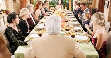 Bold and the Beautiful Spoilers: Thanksgiving - Steffy Forrester (Jacqueline MacInnes Wood) - Hope Logan (Annika Noelle) - Quinn Fuller (Rena Sofer)