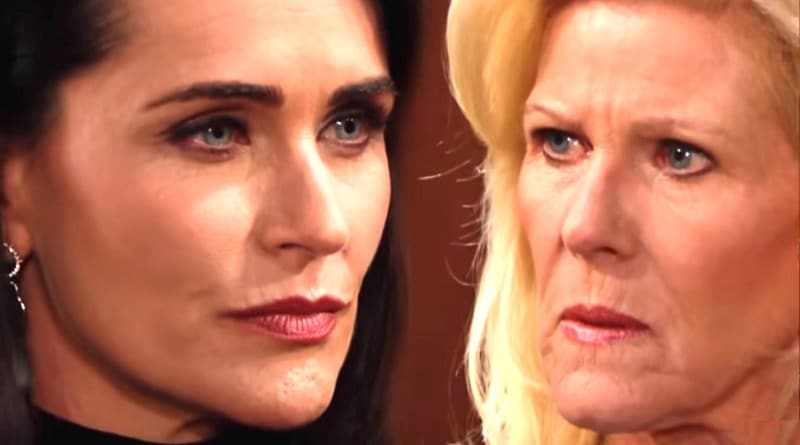 Bold and the Beautiful Spoilers: Quinn Fuller (Rena Sofer) - Pam Douglas (Alley Mills)