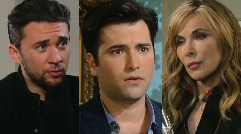 Days of Our Lives Spoilers: Chad DiMera (Billy Flynn) - Sonny Kiriakis (Freddie Smith) - Kate Roberts (Lauren Koslow)