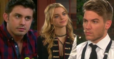 Days of Our Lives Spoilers: Wyatt (Scott Shilstone) - Claire Brady (Olivia Rose Keegan) - Tripp Dalton (Lucas Adams)