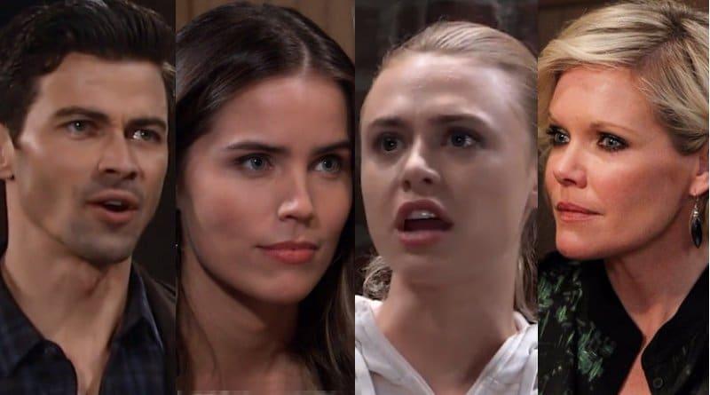 General Hospital Spoilers: Griffin Munro (Matt Cohen) - Sasha Gilmore (Sofia Mattsson) - Kiki Jerome (Hayley Erin) - Ava Jerome (Maura West)