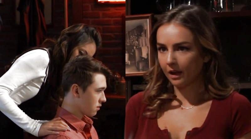 General Hospital Spoilers: Oscar Nero (Garren Stitt) - Daisy (Kelsey Wang) - Kristina Corinthos (Lexi Ainsworth)