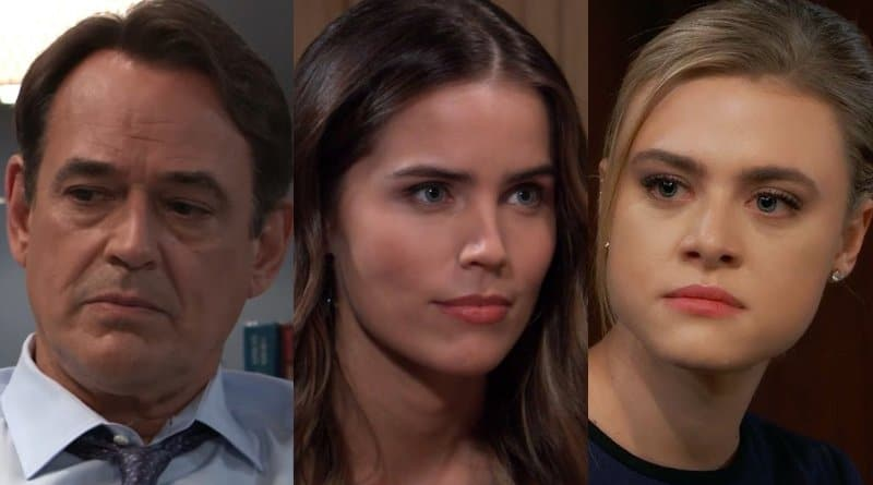 General Hospital Spoilers: Ryan Chamberlain (Jon Lindstrom) - Sasha GIlmore (Sofia Mattson) - Kiki Jerome (Hayley Erin)