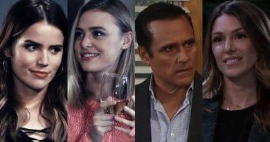General Hospital Spoilers: Sasha Gilmore (Sofia Mattsson) - Kiki Jerome (Hayley Erin) - Sonny Corinthos (Maurice Benard) - Margaux Dawson (Elizabeth Hendrickson)