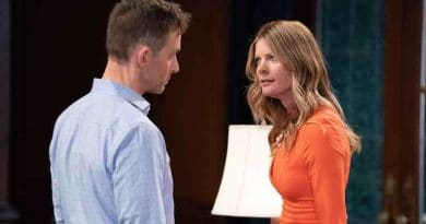 General Hospital Spoilers: Valentin Cassadine (James Patrick Stuart) - Nina Reeves (Michelle Stafford)