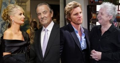 Young and the Restless: Ashley Abbott (Eileen Davidson) - Victor Newman (Eric Braeden) - JT Hellstrom (Thad Luckinbill) - Mal Young