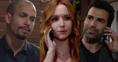 Young and the Restless Spoilers: Devon Hamilton (Bryton James) - Mariah Copeland (Camryn Grimes) - Rey Rosales (Jordi Vilasuso)