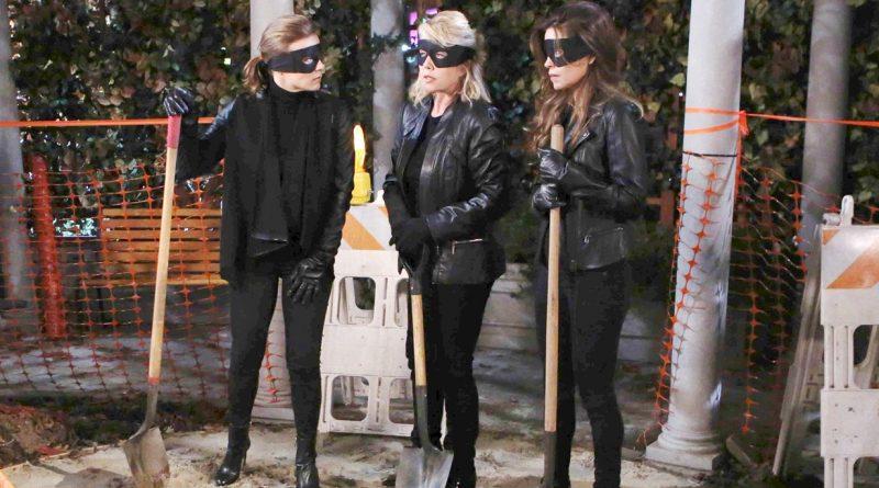 Young and the Restless Spoilers: Phyllis Abbott (Gina Tognoni) - Sharon Newman (Sharon Case) - Victoria Newman (Amelia Heinle) - Nikki Newman (Melody Thomas Scott)