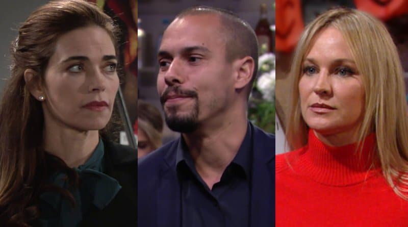 Young and the Restless Spoilers: Victoria Newman (Amelia-Heinle) – Devon Hamilton (Bryton James) - Sharon Newman (Sharon Case)