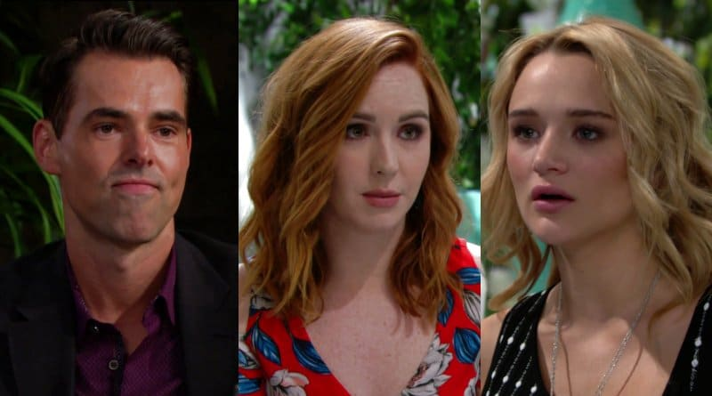 Young and the Restless spoilers: Billy Abbott (Jason Thompson) - Mariah Copeland (Camryn Grimes) - Summer Newman (Hunter King)