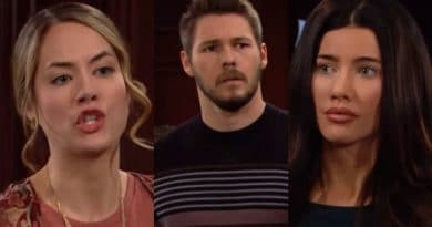 Bold and the Beautiful Spoilers - Hope Logan (Anikka Noelle) - Liam Spencer (Scott Clifton) - Steffy Forrester (Jacqueline MacInnes Wood)