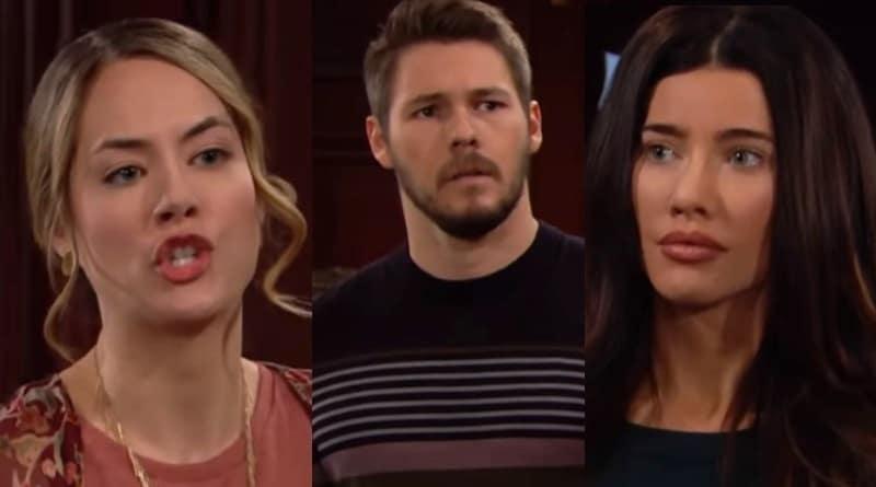 Bold and the Beautiful Spoilers - Hope Logan (Anikka Noelle) - Liam Spencer (Scott Clifton) - Steffy Forrester (Jacqueline MacInnes Wood)