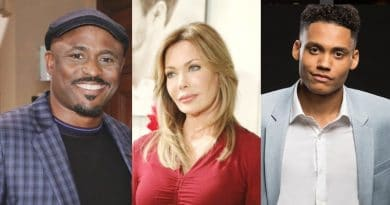 Bold and the Beautiful Spoilers: Reese Buckingham (Wayne Brady) - Taylor Hayes (Hunter Tylo) - Xander Avant (Adain Bradley)