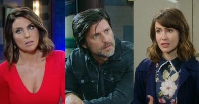 Days of Our Lives Spoilers: Chloe Lane (Nadia Bjorlin) - Eric Brady (Greg Vaughan) - Sarah Horton (Linsey Godfrey)