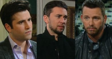 Days of Our Lives Spoilers: Sonny Kiriakis (Freddie Smith) - Chad DiMera (Billy Flynn) - Brady Black (Eric Martsolf)