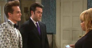 Days of Our Lives Spoilers: Leo Stark (Greg Rikaart) - Sonny Kiriakis (Freddie Smith) - Sheila Watkins (Tionne Watkins)