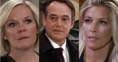 General Hospital Spoilers: Ava Jerome (Maura West) - Ryan Chamberlain (Jon Lindstrom) - Carly Corinthos (Laura Wright)
