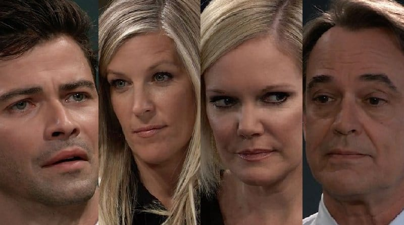 General Hospital Spoilers: Griffin Munro (Matt Cohen) - Carly Corinthos (Laura Wright) - Ava Jerome (Maura West) - Ryan Chamberlain (Jon Lindstrom)