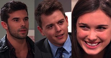 General Hospital Spoilers: Harrison Chase (Josh Swickard) - Michael Corinthos (Chad Duell) - Willow Tait (Katelyn MacMullen)
