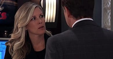 General Hospital Spoilers: Ryan Chamberlain (Jon Lindstrom) - Carly Corinthos (Laura Wright)