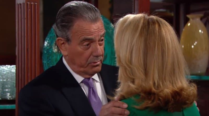 Young and the Restless Spoilers: Eric Braeden (Victor Newman) - Nikki Newman (Melody Thomas Scott)