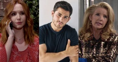 Young and the Restless Spoilers: Mariah Copeland (Camryn Grimes) - Fen Baldwin (Zach Tinker) - Nikki Newman (Melody Thomas Scott)