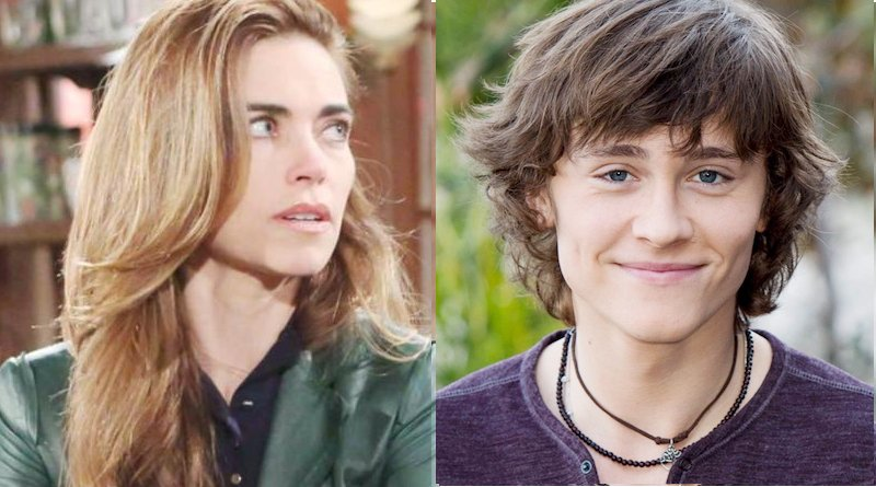Young and the Restless Spoilers: Victoria Newman (Amelia Heinle) - Reed Hellstrom (Tristan Lake Leabu)