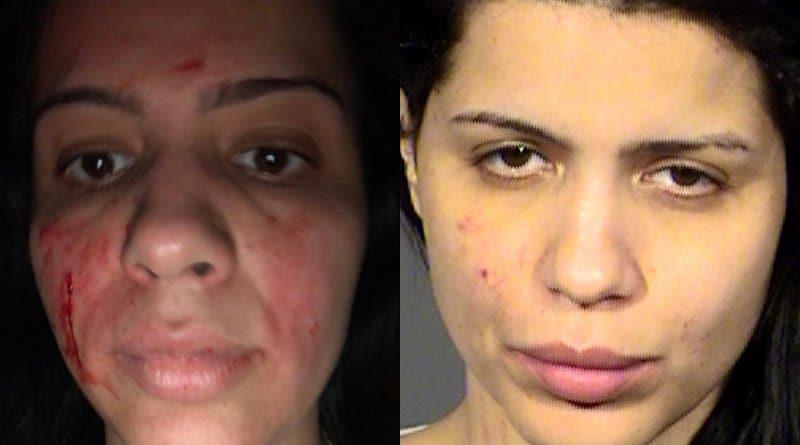 90 Day Fiance: Larissa Christina before after mugshot