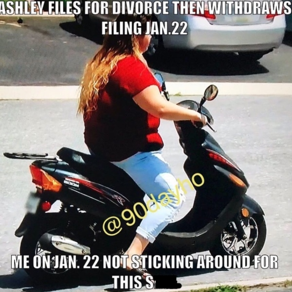 90 Day Fiance: Natalie Crawford Scooter