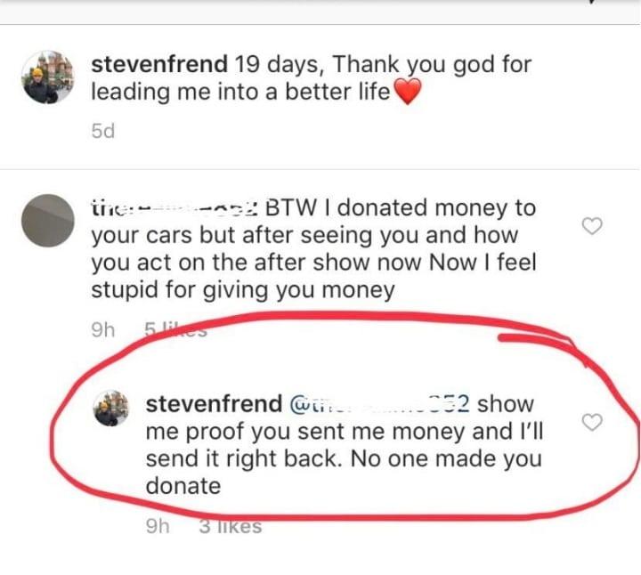 90 Day Fiance - Steven Frend - GoFundMe