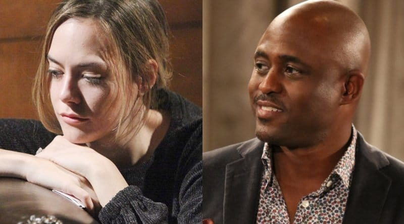 Bold and the Beautiful Spoilers: Hope Logan (Annika Noelle) - Reese Buckingham (Wayne Brady)