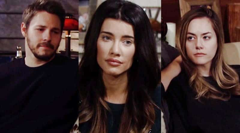 Bold and the Beautiful Spoilers: Liam Spencer (Scott Clifton) - Steffy Forrester (Jacqueline MacInnes Wood) - Hope Logan (Annika Noelle)