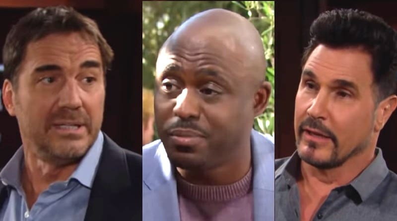 Bold and the Beautiful Spoilers: Ridge Forrester (Thorsten Kaye) - Reese Buckingham (Wayne Brady) - Bill Spencer (Don Diamont)