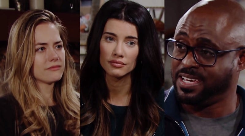 Bold and the Beautiful Spoilers: Hope Logan (Annika Noelle) - Steffy Forrester (Jacqueline MacInnes Wood) - Reese Buckingham (Wayne Brady)