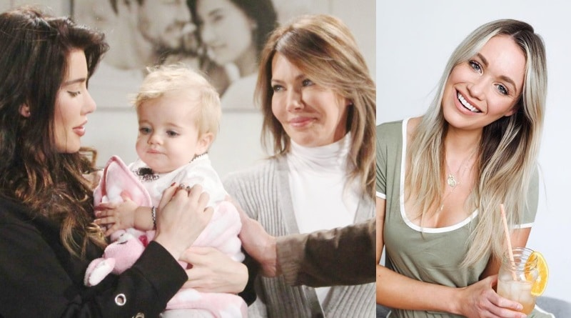 Bold and the Beautiful Spoilers: Steffy Forrester (Jacqueline MacInnes Wood) - Kelly Spencer (Zoe Pennington) - Taylor Hayes (Hunter Tylo) - Flo (Katrina Bowden)