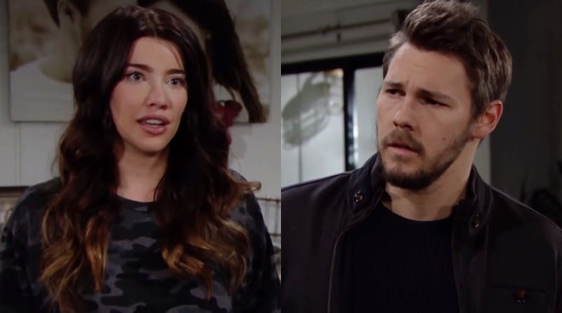 Bold and the Beautiful Spoilers: Steffy Forrester (Jacqueline MacInnes Wood) - Liam Spencer (Scott Clifton)