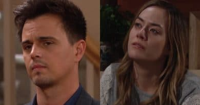 Bold and the Beautiful Spoilers: Wyatt Spencer (Darin Brooks) - Hope Logan (Annika Noelle)