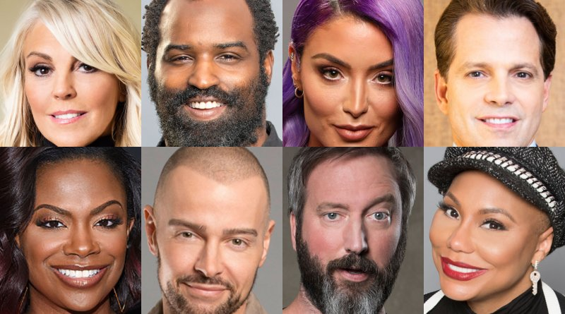 Celebrity Big Brother: Dina Lohan - Ricky Williams - Kandi Burruss - Tom Green - Natalie Eva Marie - Joey Lawrence - Anthony Scaramucci - Tamar Braxton