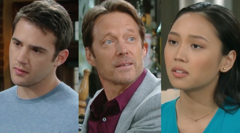 Days of Our Lives Spoilers: JJ Deveraux (Casey Moss) - Jack Deveraux (Matthew Ashford) - Haley Chen (Thia Megia)