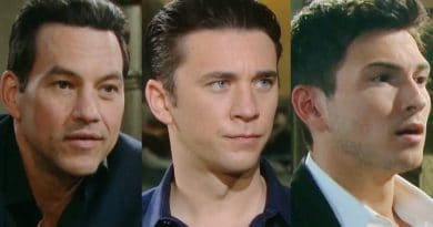 Days of Our Lives Spoilers: Stefan DiMera (Tyler Christopher) - Chad DiMera (Billy Flynn) - Ben Weston (Robert Scott Wilson)