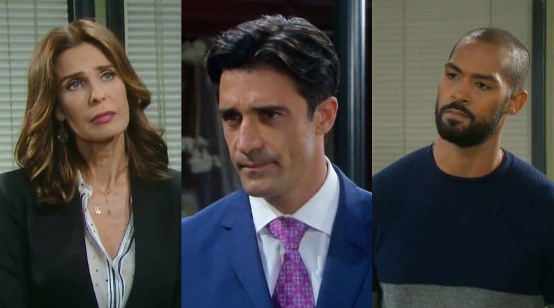 Days of Our Lives Spoilers: Hope Brady (Kristian Alfonso) - Ted Laurent (Gilles Marini) - Eli Grant (Lamon Archey)