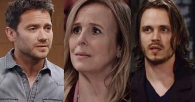 General Hospital Spoilers: Dante Falconeri (Dominic Zamprogna) - Laura Spencer (Genie Francis) - Lucky Spencer (Jonathan Jackson)