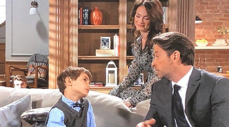 General Hospital Spoilers: Franco Baldwin (Roger Howarth) - Elizabeth Webber (Rebecca Herbst) - Aiden Spencer (Jason David)